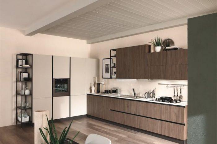 cucina-moderna-zen-con-tavolo-tecno-rettangolare-allungabile-683x1024